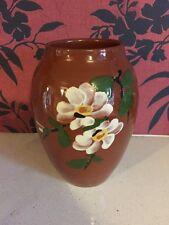Lovely Dartmouth Pottery Teracotta Vase