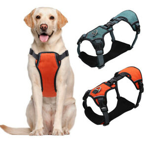 Reflective No Pull Dog Harness Heavy Duty Soft Walk Vest for Medium Large Dogs