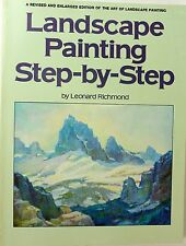 Landscape Painting Step-by-Step by Leonard Richmond (1978, Paperback)