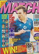 MATCH MARCH 7th 1992 SET FOR SWEDEN No 6 ARSENAL NORWICH SPURS LIVERPOOL LEEDS