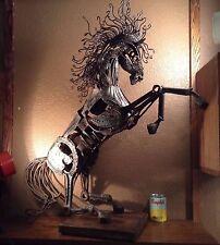 MID CENTURY BRUTALIST HORSE SCULPTURE CURTIS JERE STYLE
