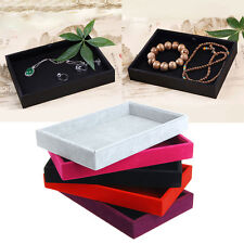 Stackable Jewelry Trays Inserts Velvet Catch All Jewelry Display Tray Case