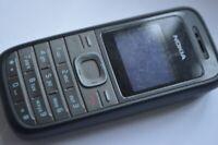 Nokia 1208 - Black (Unlocked) Senior basic button  Mobile Phone