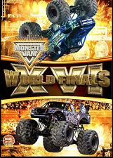 2015 Monster Jam World Finals XVI DVD New Sealed! Free Shipping!