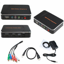 HD Game Capture Box Video Recorder 1080P HDMI YPBPR for Xbox 360 One PS3 PS4 TV