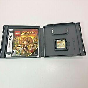 Nintendo 2006 DS Indiana Jones Game The Original Adventures Complete Lego People