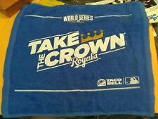 2014 KANSAS CITY ROYALS WORLD SERIES RALLY TOWEL.#2