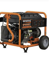 GENERAC  GP6500E PORTABLE GENERATOR  LOCAL PICUP ONLY NO SHIPPING