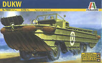 Italeri 1/72 7022 WWII US Army DUKW Six-Wheel-Drive Amphibious Transport