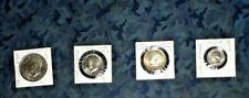 4 RARE COINS-DOLLAR,HALF,QUARTER-BICENTENNIAL,SILVER,EAGLE,ETC-EXCELLENT