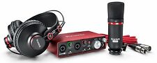 Focusrite Scarlett 2i2 Studio (2nd Gen) USB Audio Interface and Recording Bundle with Pro Tools