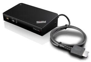 4K Lenovo ThinkPad OneLink+ Dock, Dual+1 Display DU9047S1 USB 3.0 + Power Supply