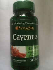 CAYENNE PEPPER CAPSULES 100X450MG. MANY HEALTH BENEFITS-PLEASE READ DESCRIPTION