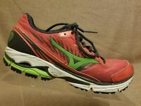 Mizuno Wave Rider 16 Women's Pink Active Sport Running Athletic Shoes Size 9