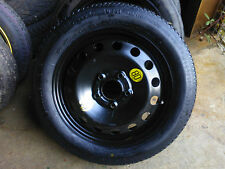 "2009-2017 VAUXHALL ASTRA 5 X 105 SPACE SAVER SPARE WHEEL 16"" TYRE+Jack & Spanner"