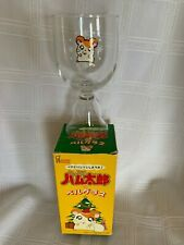 Vintage Nos Christmas Hamtaro Hamster Bell Glass In Box Mister Donut Japan