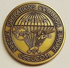 SOCEUR USEUCOM Special Operations Europe Headquarter Coin Circa 1995