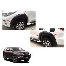 Fender Flares Wheel Black Nuts V2 Set For Toyota Fortuner Crusade 2015 - 2017