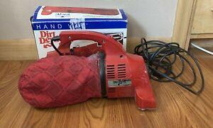Vintage ROYAL DIRT DEVIL HAND VAC 103 TESTED WORKS EXCELLENT -Manual/New Bag/Box