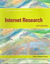 Internet Research, 6th Edition (Illustrated) Barker, Donald I.; Barker, Melissa