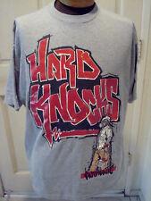 VTG 90s School Of Hard Knocks T-Shirt Graffiti Boy Double Sided  2XL XXL