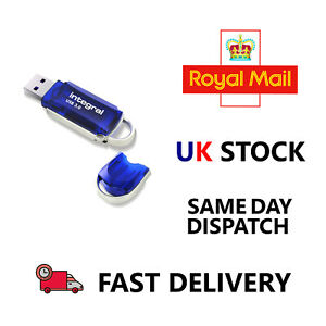 Integral Courier 64GB High Speed USB 3.0 Flash Drive