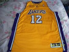 NWOT Dwight Howard Los Angeles Lakers basketball adidas XL SEWN Jersey NEW