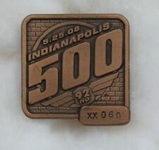 2008 92nd Indianapolis Indy 500 Bronze Badge Scott Dixon Winner