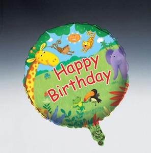 Jungle Buddies Foil Balloon - Birthday Party Supplies