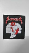 Metallica Alcoholica drink 'em all Vintage Sew On patch music