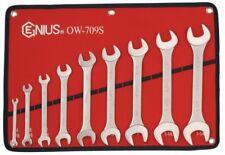 Genius Tools 9 Pcs SAE Open End Wrench Set - OW-709S