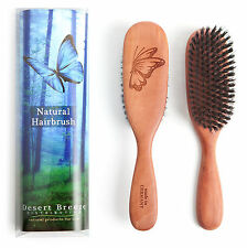 100 Pure Wild Boar Bristle Hair Brush Made In Germany Stiff Bristles Pw1