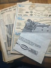 Vintage Aurora Model Motoring Paper Stuff