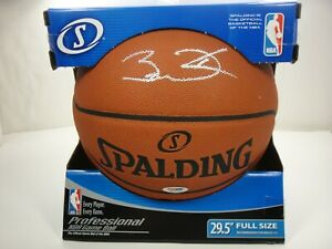 DWYANE WADE PSA/DNA SIGNED OFFICIAL NBA LEATHER GAME BASKETBALL AUTOGRAPHED HEAT