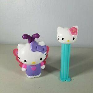 Hello Kitty 2019 McDonalds Kitty With Butterfly Wings & Pez Dispenser