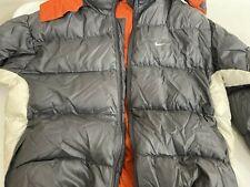 Nike Men's Solid Gray Coat 48R Size M $295