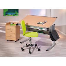 Rollcontainer Bürocontainer Büro Rollwagen Bürowagen Buche 4 Schubladen NEU