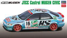 Hasegawa 20308 1/24 Model Car Kit Castrol Mugen Honda Civic Ferio EG8 JTCC'94