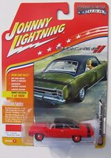 JOHNNY LIGHTNING 2017 MUSCLE CARS 1969 DODGE DART GT 340 RED 1 of 1,800 HOBBY