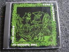 Typ O Negative-The Origin of the Feces CD-1994-Roadrunner-Stemra-Holland-Metal