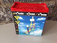 Vintage 90S#K'nex K Nex Wind Surfer Rider Windsurf 175 Pcs# Nib