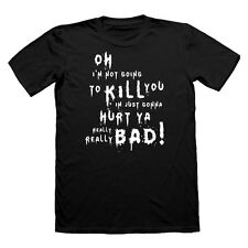 Suicide Squad Joker Quote Hurt You Really Bad T shirt harley quinn Tshirt movie