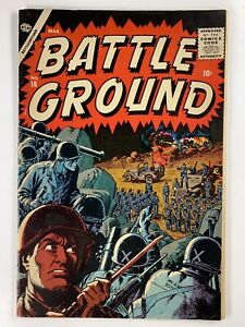 BATTLEGROUND #16 FN+ 6.5 Atlas 1957