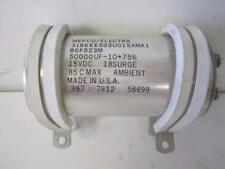 TRACOR GAS CHROMATOGRAPH 560 PART MEPCO 86F523M CAPACITOR 15VDC 50000UF RARE