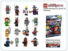 LEGO Minifigure Series 14 Set - Complete Set of 16 - 71010 - Monsters - New AU