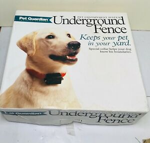 Guardian Pet Training System Pet Containment System Underground Fence