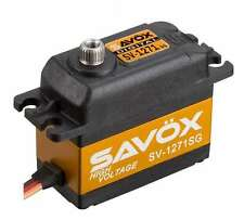 SAVOX SV-1271SG SERVO DIGITALE 25kg - HIGH VOLTAGE 7.4v