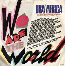 """USA FOR AFRICA - We Are The World (7"""") (EX/G+)"""