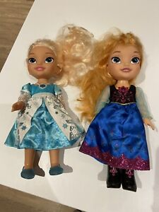 elsa and anna toddler dolls