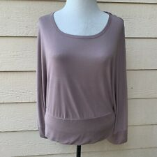 Anthropologie Deletta Wandertrail Top Blouse Casual Dolman Sleeve Women Mauve M